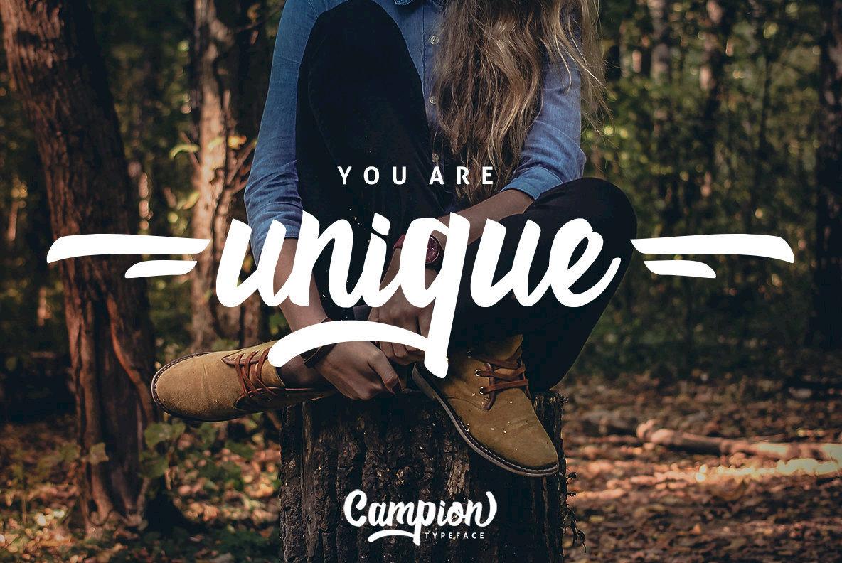 Campion Typeface
