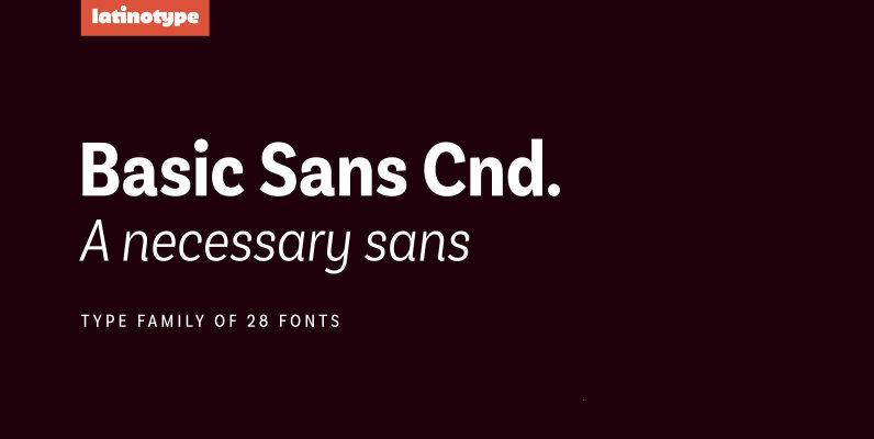 Basic Sans Cnd