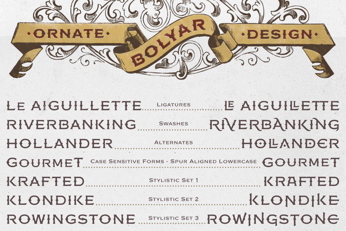 Bolyar Ornate Pro