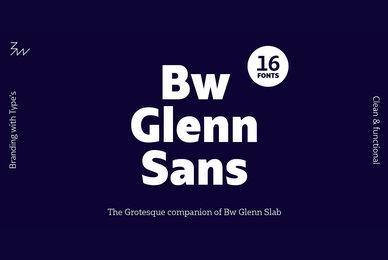 Bw Glenn Sans