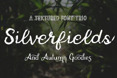 Silverfields   Font Trio