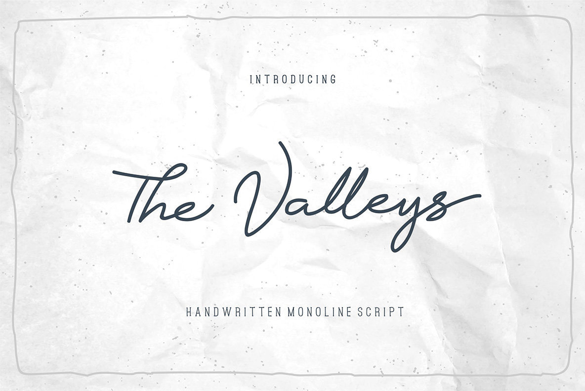 The Valleys Script
