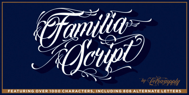 Familia Script