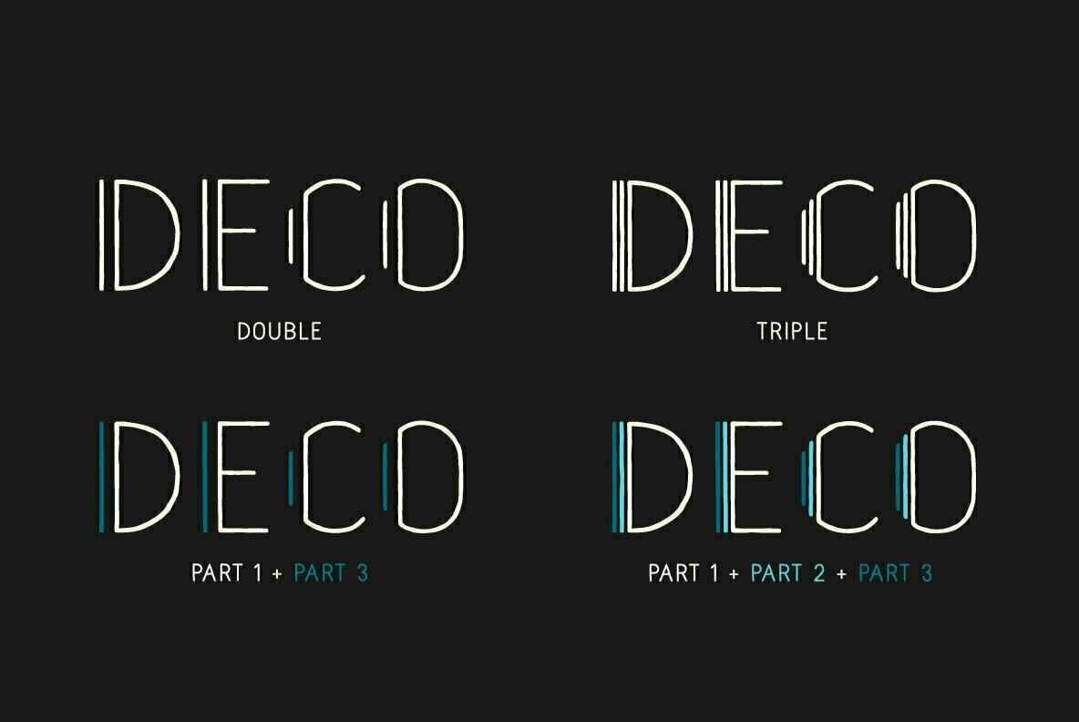 Naive Deco Sans