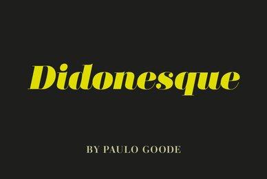Didonesque