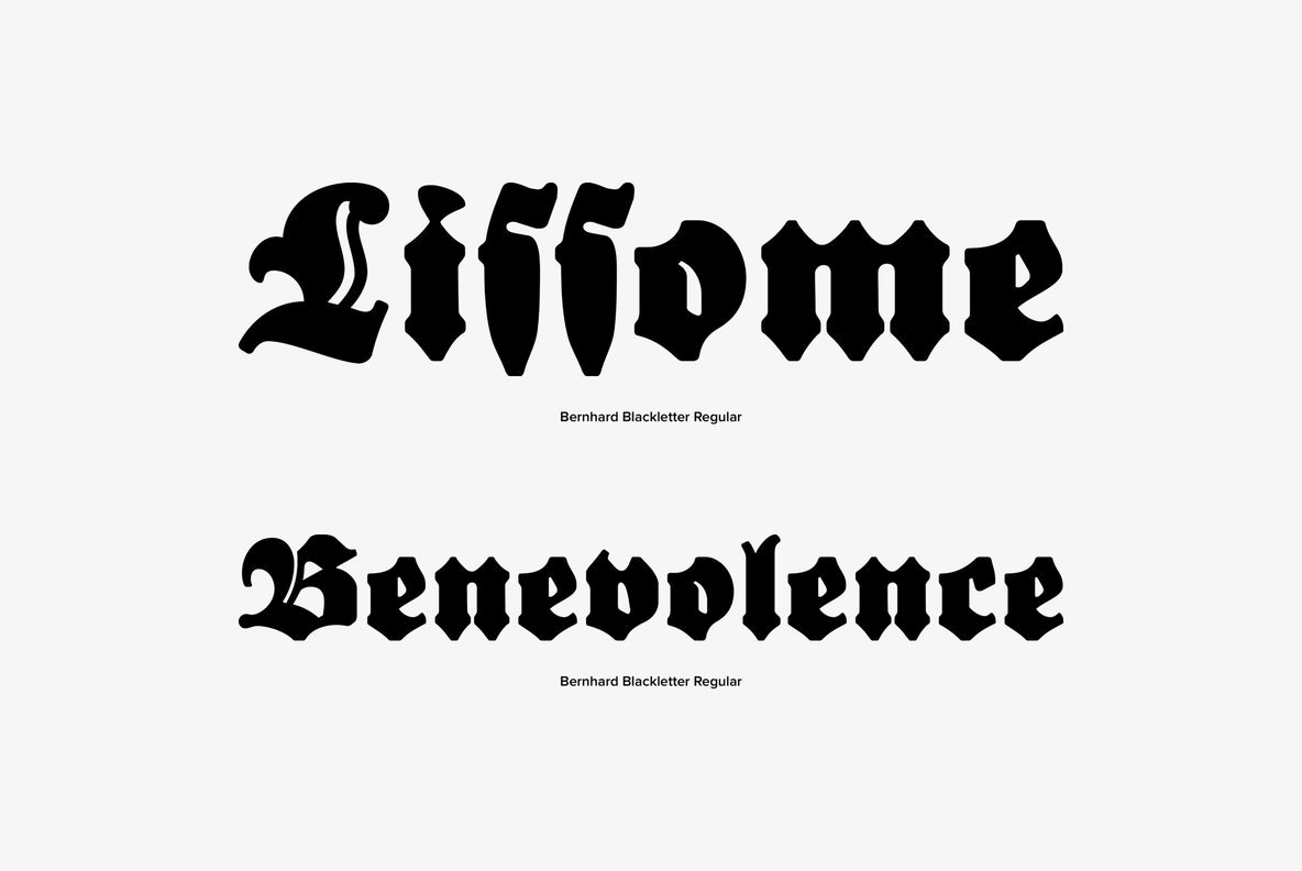 Bernhard Blackletter