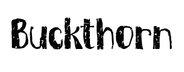 Buckthorn