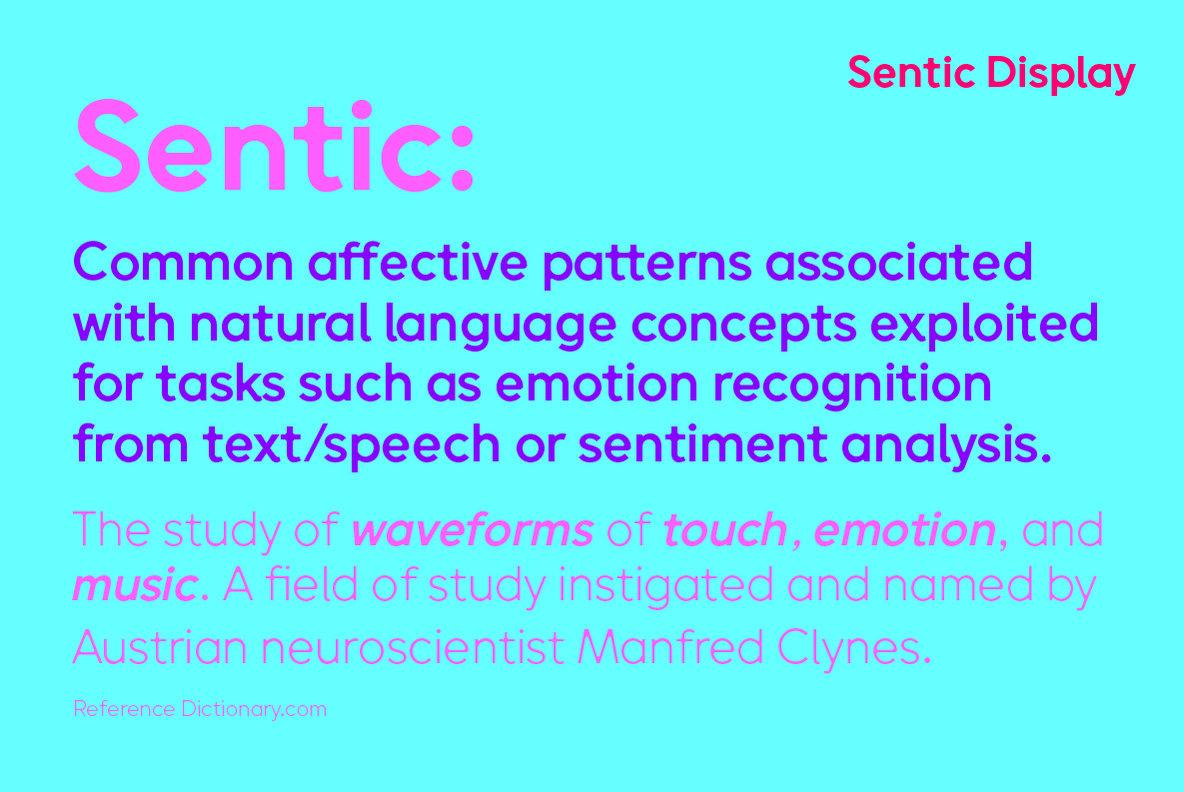 Sentic