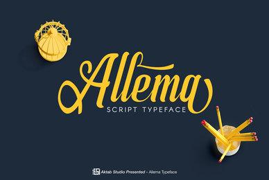 Allema Script