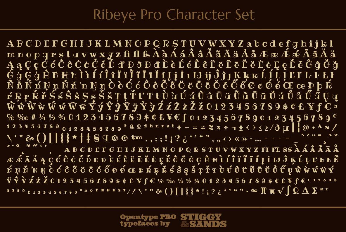 Ribeye Pro Family