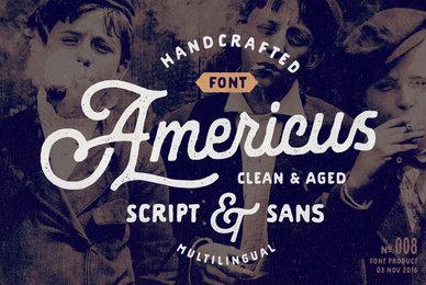 Americus Script  Sans