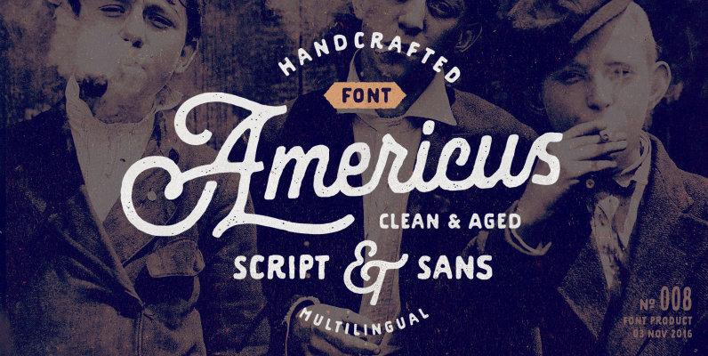 Americus Script & Sans