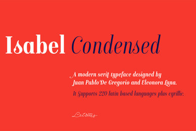 Isabel Condensed