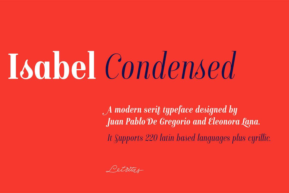 Isabel Condensed