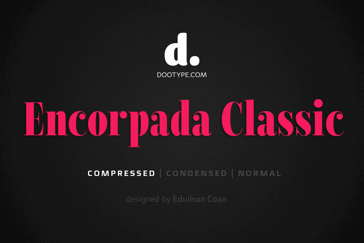 Encorpada Classic Compressed