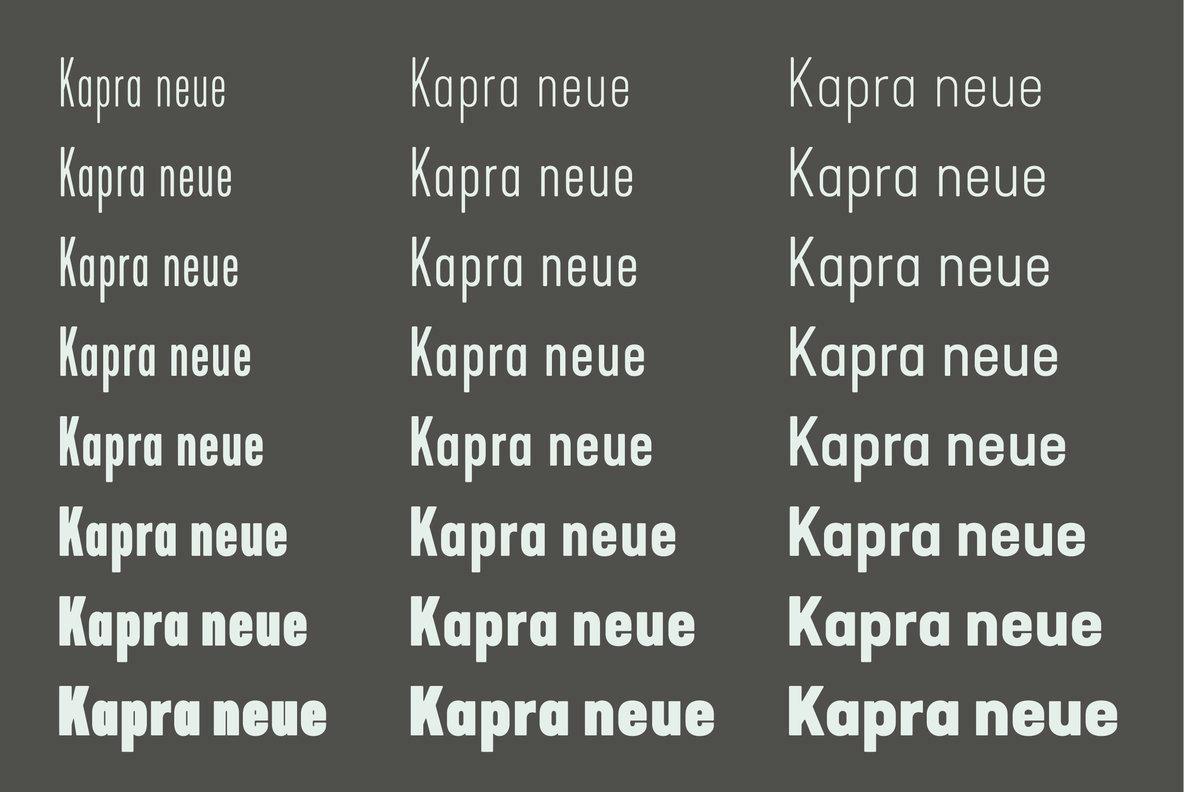 Kapra Neue