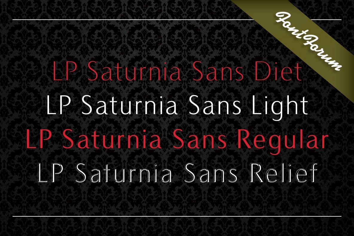 LP Saturnia Sans