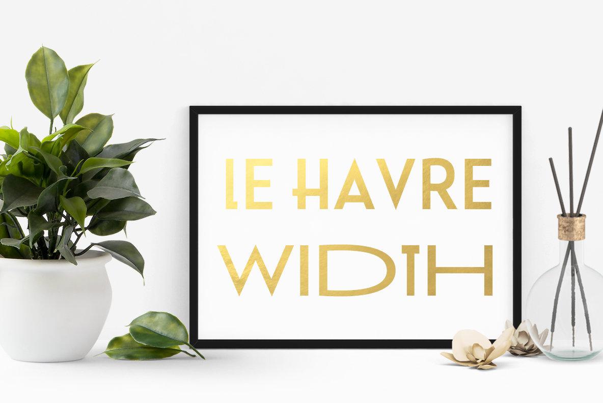 Le Havre Width