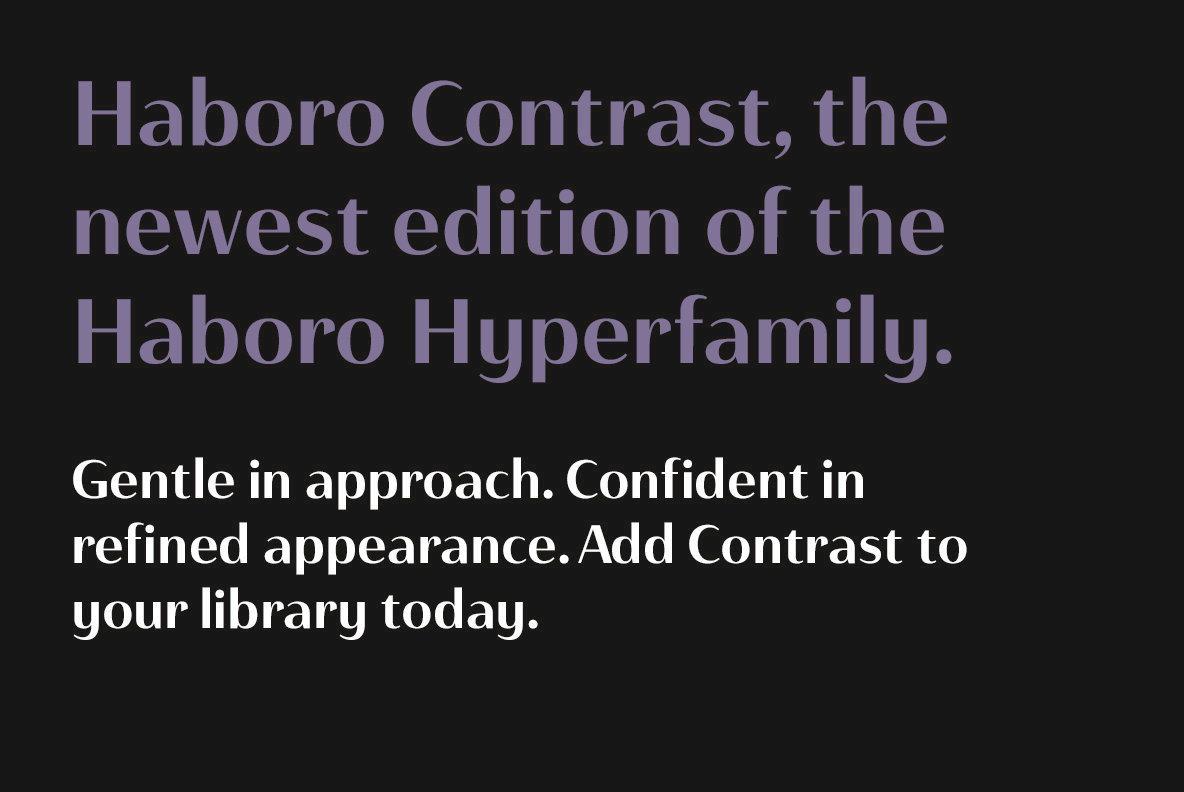 Haboro Contrast