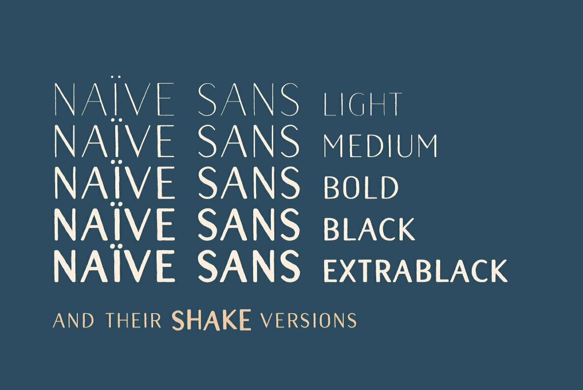 Naive Sans