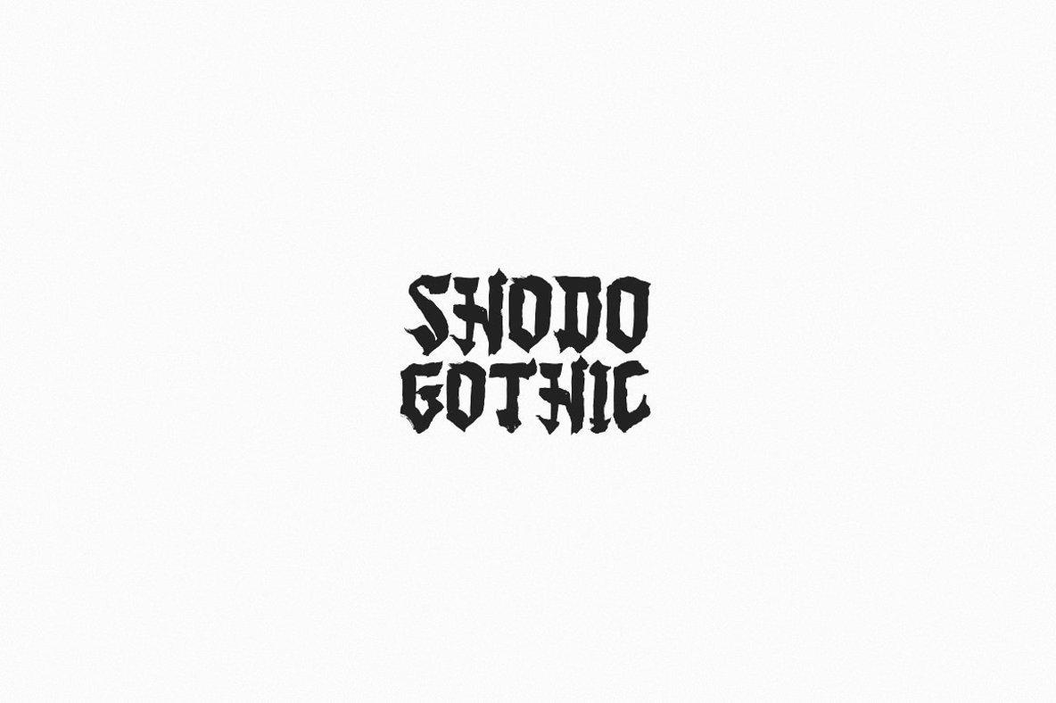 Shodo Gothic