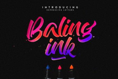 Baling Ink