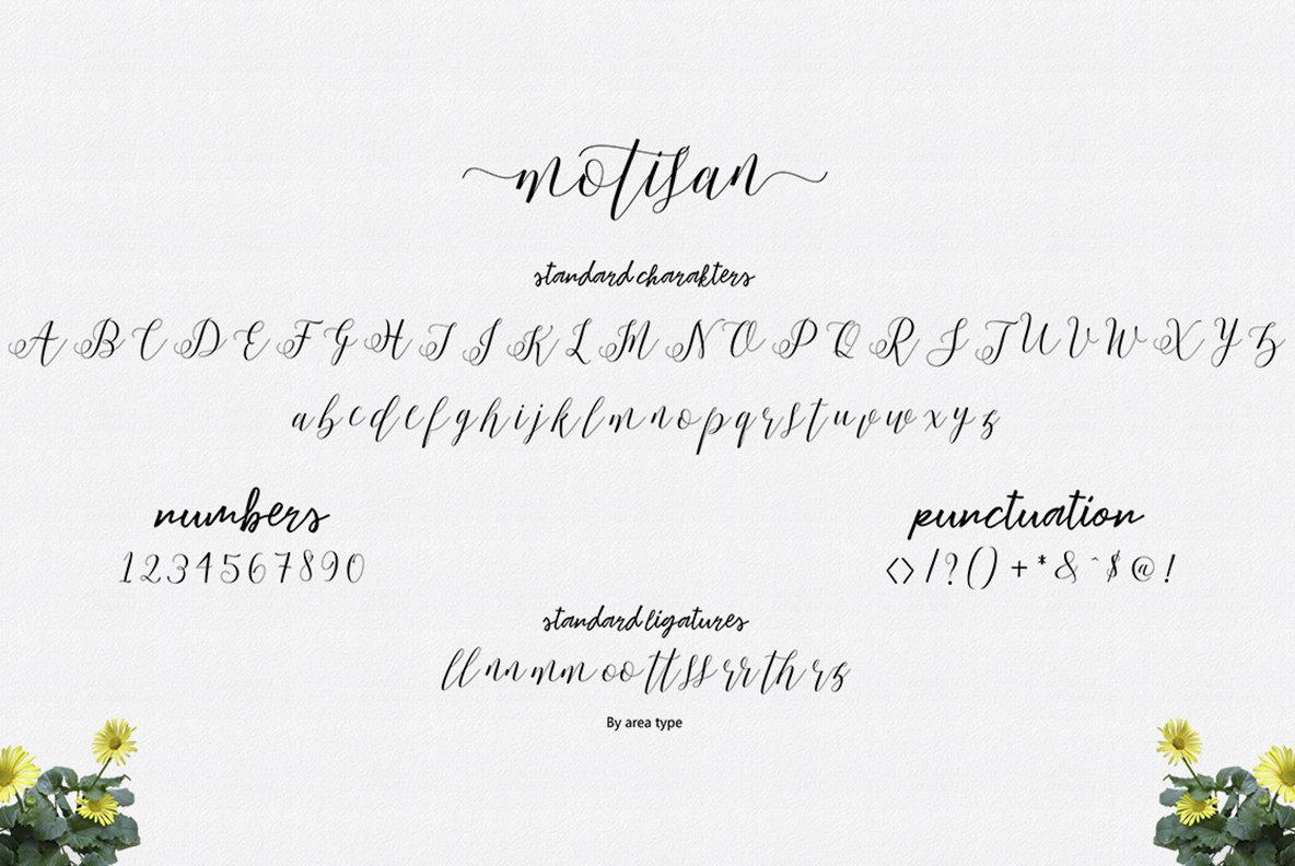 Motisan Script