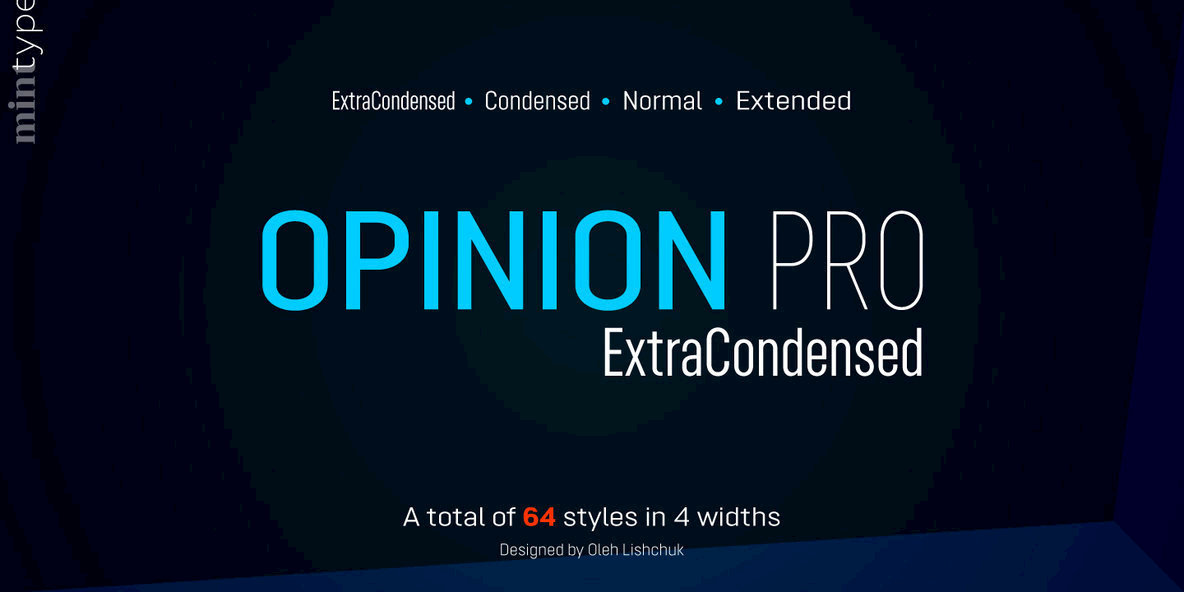 Opinion Pro ExtraCondensed