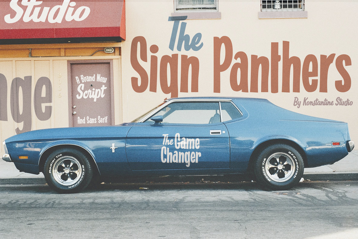 Sign Panthers