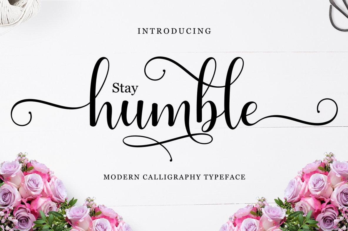 Stay Humble Script