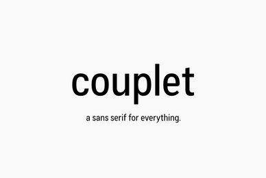 Couplet CF