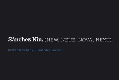 Sanchez Niu