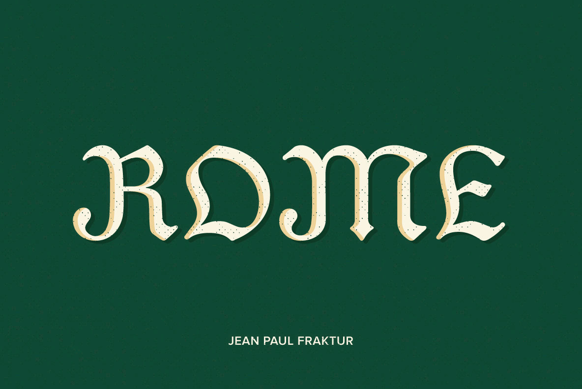 Jean Paul Fraktur
