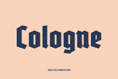 Popular Blackletter Fonts