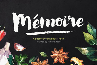 Memoire Brush Script