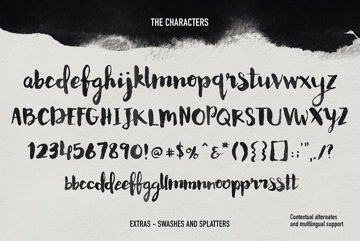 Memoire Brush Script