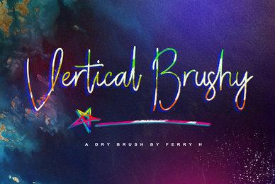 Vertical Brushy