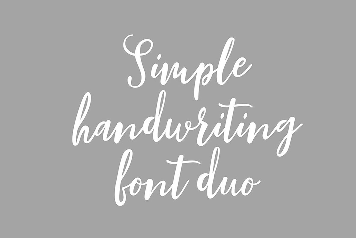 Blishfully Font Duo