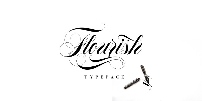 Flourish Typeface