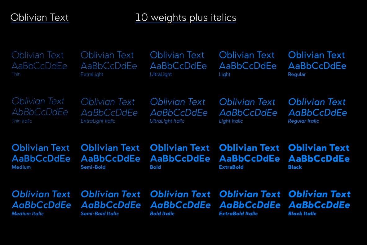 Oblivian Text