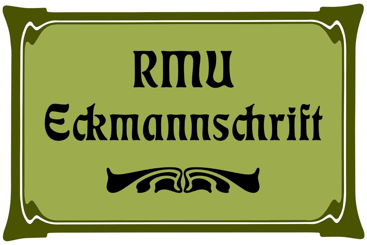 RMU Eckmannschrift