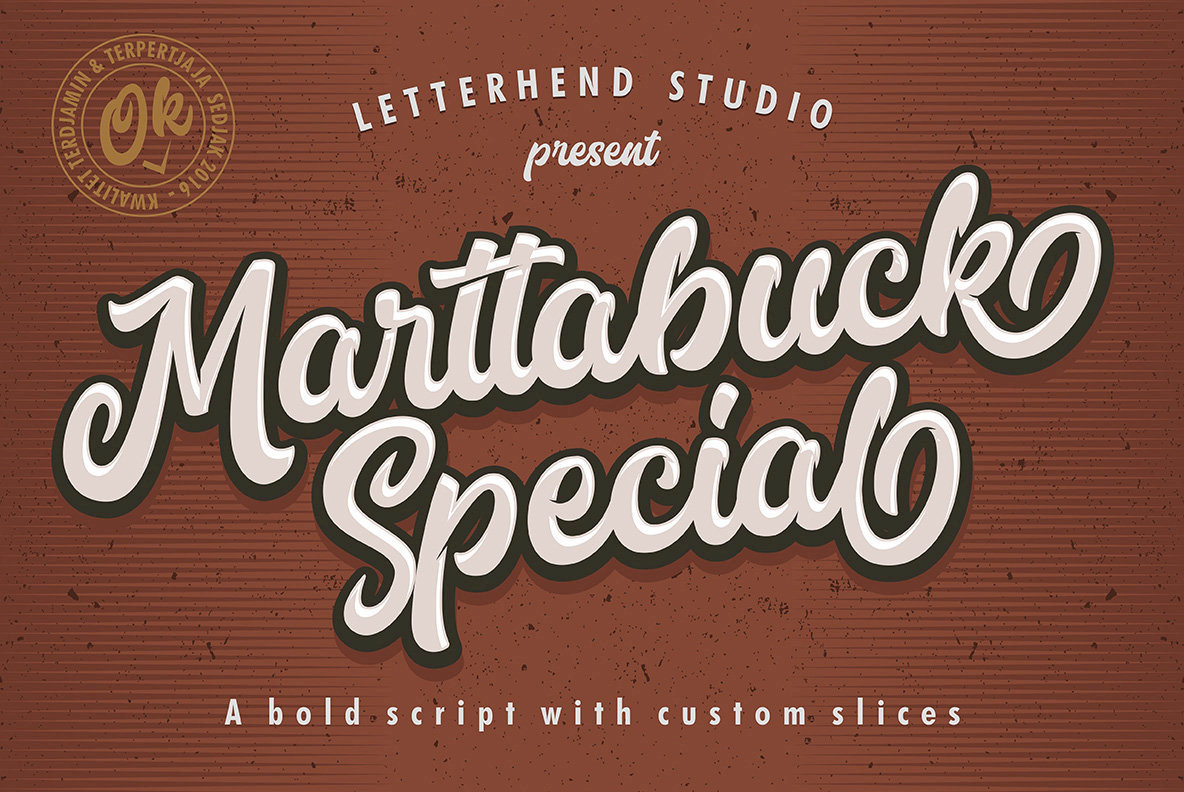 Marttabuck Script
