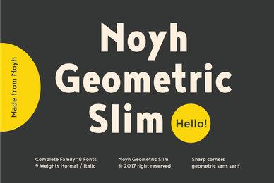 Noyh Geometric Slim