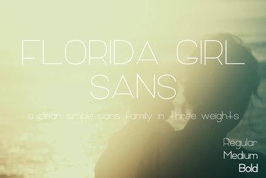 Florida Girl Sans