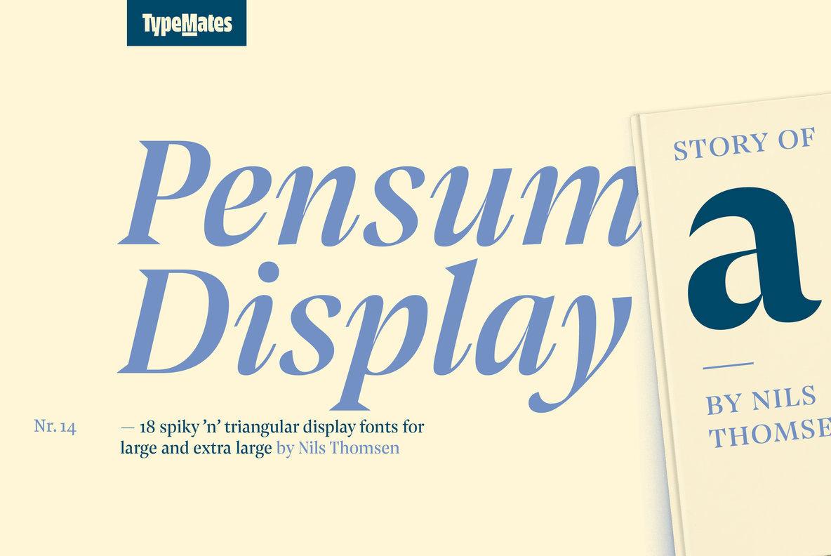Pensum Display