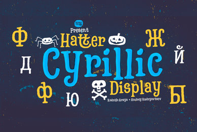 Hatter Cyrillic Display