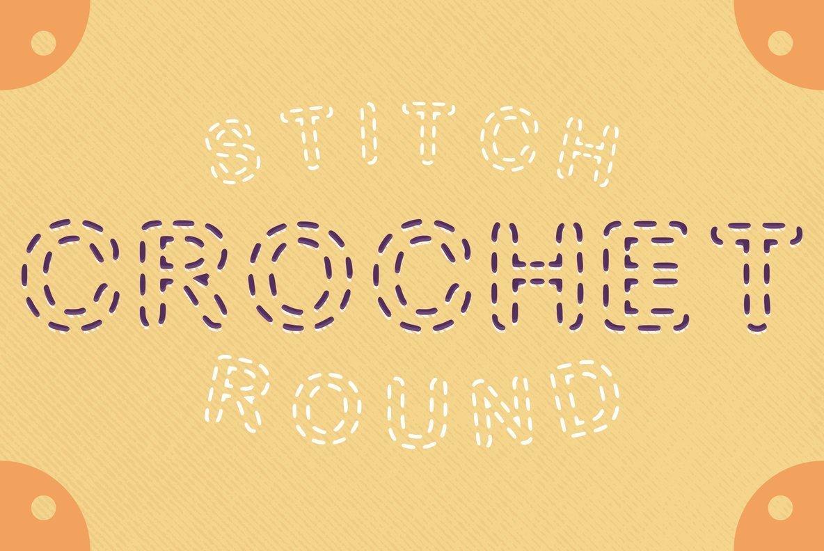 Stitch Round