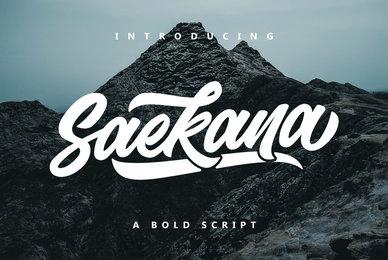 Saekana Script