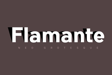 Flamante Sans