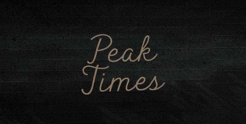 Peak Times